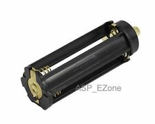 Plastical Battery Holder Box Case 3 AAA To 18650 Battery Converter