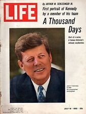 1965 Life July 16 Kennedy Thousand Days; Lotus Ford Super Car; Singapore;Pop Art