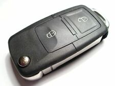 NEW 2 BUTTON FLIP REMOTE KEY FOB for VW SHARAN, SEAT ALHAMBRA, FORD GALAXY