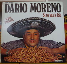 DARIO MORENO SI TU VAS A RIO DOUBLE ALBUM  FRENCH LP IMPACT