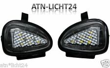2x VW GOLF VI 6 LED SMD retrovisores entorno iluminación blanco xenon 6000k Can-Bus