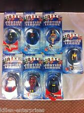 Justice League Animated Series 7 Figure Set Mattel 2002 Batman Superman Wonder