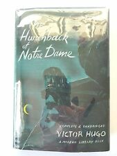 THE HUNCHBACK OF NOTRE DAME by VICTOR HUGO MODERN LIBRARY HC w/ JACKET ML35 VG+