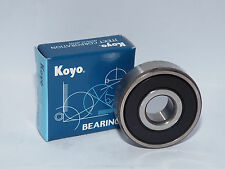 Koyo 6205-2RS Bearing Rubber Sealed 25x52x15mm