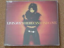 LIVIN'JOY - WHERE CAN I FIND LOVE - CD SINGLE