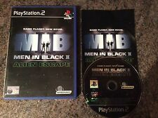 Men In Black 2 Alien Escape Ps2 Game! Complete! Look At My Other Games!