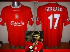 Liverpool GERRARD Adult Small BNWT New Football Soccer Jersey Shirt Reebok Top