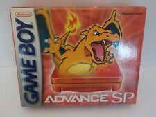 Nintendo Gameboy Advance SP RARE Pokemon Center CHARIZARD Edition New Open Box