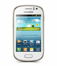 Samsung Galaxy Fame S6812 Unlocked GSM Dual-SIM Android Cell Phone - White