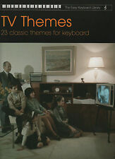 TV Tunes Easy Keyboard Library Sheet Music Book Beginners Television Themes Song