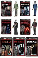 Funko ReAction Horror Classics 3.75 Inch Action Figure Set of 7 Free Shipping