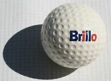 Vintage Brillo Pads Logo Golf Ball Old Cleaning Janitor Dish Washer Kitchen Pans