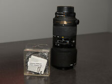 Nikon ED AF Micro Nikkor 70-180mm1:4.5-1:5.6 D Lens w/ 62mm 5T Close-Up Filter