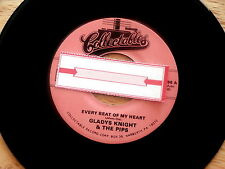 GLADYS KNIGHT~EVERY BEAT OF MY HEART ~Unplayed Soul 45~Jukebox Re-issue