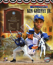 Ken Griffey Jr. Seattle Mariners Hall of Fame Unsigned Photofile 8x10 Photo