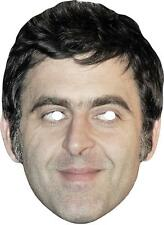 Ronnie O'Sullivan 2 Celebrity Snooker Sports Card Mask.All Our Masks Are Pre-Cut