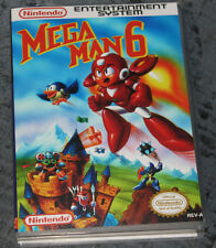 Mega Man 6 - NES Reproduction Art Case/Box No Game.