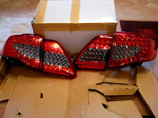 Fit 2008 - 2011 Toyota Corolla Altis LED Tail Light Rear Lamps Red Black Color