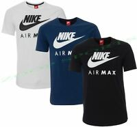 Nike New men's Air Max Logo Crew Cotton T-Shirt Tee All Size