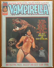 VAMPIRELLA..VOL.1 #37..JOSE GONZALEZ..WARREN 1974 1ST PRINT..CENTS..VFN..COLOUR