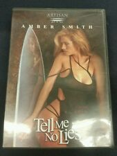 Tell Me No Lies DVD, Yvette McClendon, Erotic Thriller Sexy Amber Smith w Insert