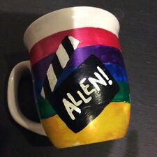 New Royal Norfolk multicolor ALLEN filmy movie action coffee cup mug D handle