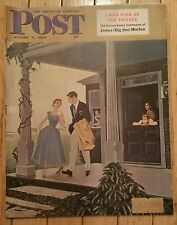 THE SATURDAY EVENING POST AUGUST 5 1950 JAMES BIG JIM MORTON KING OF THIEVES