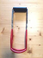 Canning Jar Lifter Tongs Red Kitchen Hand Tool Grabber