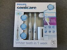 Philips Sonicare Flexcare Premium Diamond Clean Electric Toothbrush 2 PACK NIB