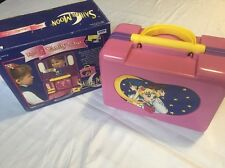 Sailor Moon - LIGHT UP VANITY CASE IRWIN TOY - Open Box - MINT condition