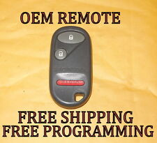 OEM 01 02 03 04 05 HONDA CIVIC PILOT KEYLESS ENTRY REMOTE FOB TRANSMITTER PHOB