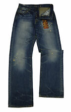 New Mens Ed Hardy Jeans Size Waist 32 Leg 34 Loose Dart
