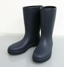 New Authentic GUCCI Mens Rain Boots SHOES 7G Navy w/Interlocing G 202752