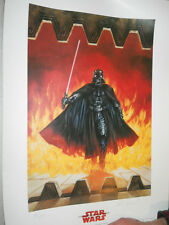 STAR WARS DARTH VADER DARK LORD OF THE SITH DAVE DORMAN ROLLING THUNDER POSTER