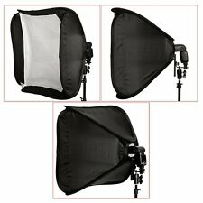 "24"" 60 X 60cm Portable Professional Softbox Kit for Flash Speedlite Nikon Canon"