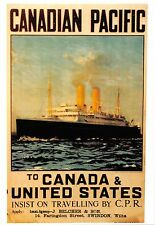 B98835 canadian pacific canada  uk ship bateaux