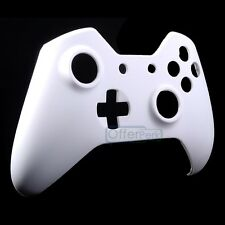 Matte White Custom Top Front Housing Shell Replacement For Xbox One Controller