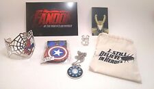 Fandom of the Month Club - Marvel Avengers Spiderman Thor Loki Jewelry NEW