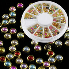 Colorful Rhinestones Nails Popular Glitter Studs Stickers Fashion High Quality