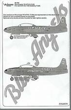 Warbird T-33A Shooting Star, Blue Angels TO-2 Decals 1/48 008, 2 Options, Part 2