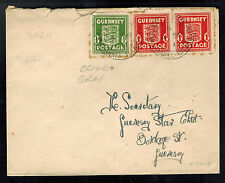 1943 Guernsey Channel Islands Occupation Cover States Office