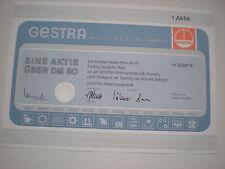 Deutschland - GESTRA  AG, Bremen  50 DM  1983   1/249