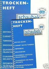 """""""Schaubek Large Stamp Drying Book"""" - Made in Germany $9.99"""