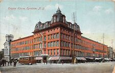 SYRACUSE NEW YORK EMPIRE HOUSE HOTEL JUBB POSTCARD c1911 DESTROYED BY FIRE 1942