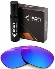Polarized IKON Replacement Lenses For Ray Ban RB2140 Wayfarer 54MM Purple Mirror