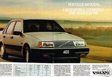 Publicité advertising 1990 (2 pages) Volvo  460