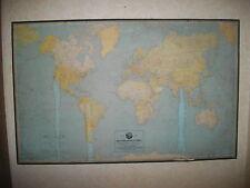 Weltkarte 1:32000000 Kümmerly&Frey für Millitzer&Münch GmbH Hof Kolonialstaaten