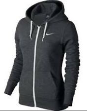 New Women's Nike Club Full Zip Hoodie 638283 071 XSmall NWT
