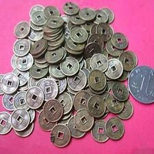 100 Pieces  Feng Shui brass coin for Fortune tree