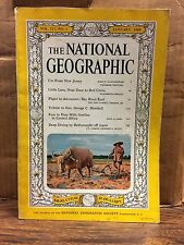 National Geographic January, 1960 Volume 117 Number One (NG4)